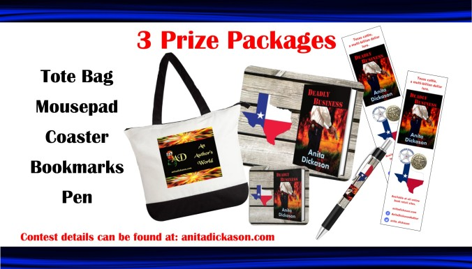 Giveaway graphic Deadly Business Blitz